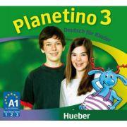 Planetino 3 3 Audio-CDs zum Kursbuch Deutsch fur Kinder - Gabriele Kopp imagine librariadelfin.ro