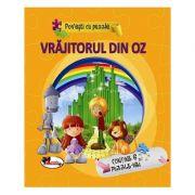 Povesti cu puzzle. Vrajitorul din Oz imagine librariadelfin.ro