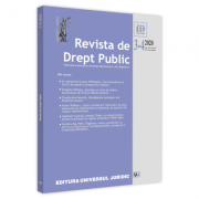 Revista de drept public nr. 3-4/2020 - Nicolae Popa imagine librariadelfin.ro