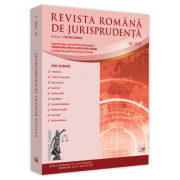 Revista romana de jurisprudenta nr. 6/2020 - Evelina Oprina imagine librariadelfin.ro