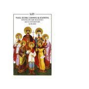 Imagine Viata, Slujba, Canonul Si Acatistul Sfintilor Tari Mucenici Mult-patimitiori